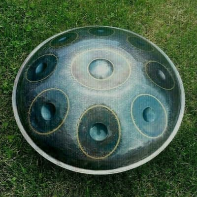 Handpan steel hand drum - Q-Hand Pan F/-MINOR  DIRECTLY FROM MAKER<