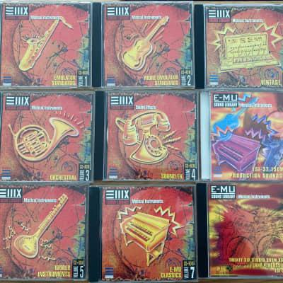 E-MU CD-ROM Sample Library | Originals |Suitable for  ESI-32/ESI-2000/ESI-4000/E3/E4/e64/E5000 etc.