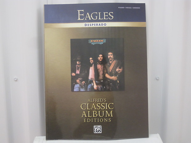 Eagles Desperado Sheet Music Song Book Songbook Piano Vocal | Reverb