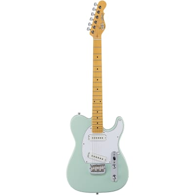 G&L Tribute ASAT Special Guitar, Maple Neck and Fretboard, Surf Green for sale