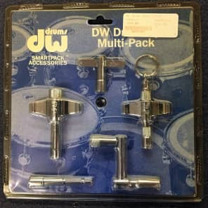 DW DWSM808 5 Drum Key Set (800, 801, 807, Heavy Duty, and Speed Keys)