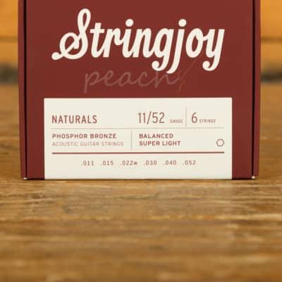 Stringjoy Naturals Super Light Phosphor Bronze 11-52