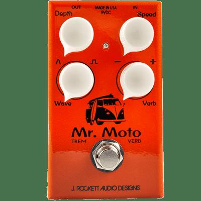 J. Rockett Audio Designs Mr. Moto Tremolo & Reverb 2018 Orange for sale