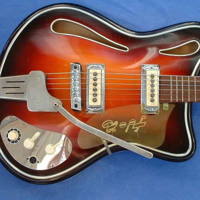 HOPF Saturn 63 E-Guitar W-Germany 1963 Star Club Show E-Gitarre original &