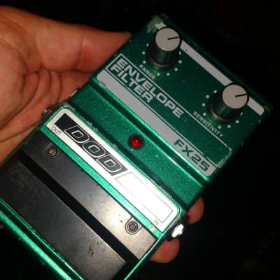 Dod USA Fx25 Metallic Green Envelope Filter Pedal As Used By Buckethead Early 90s for sale