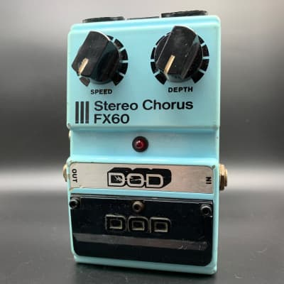 DOD FX60 Stereo Chorus Vintage 1983 Analog MN3007 Chip for sale