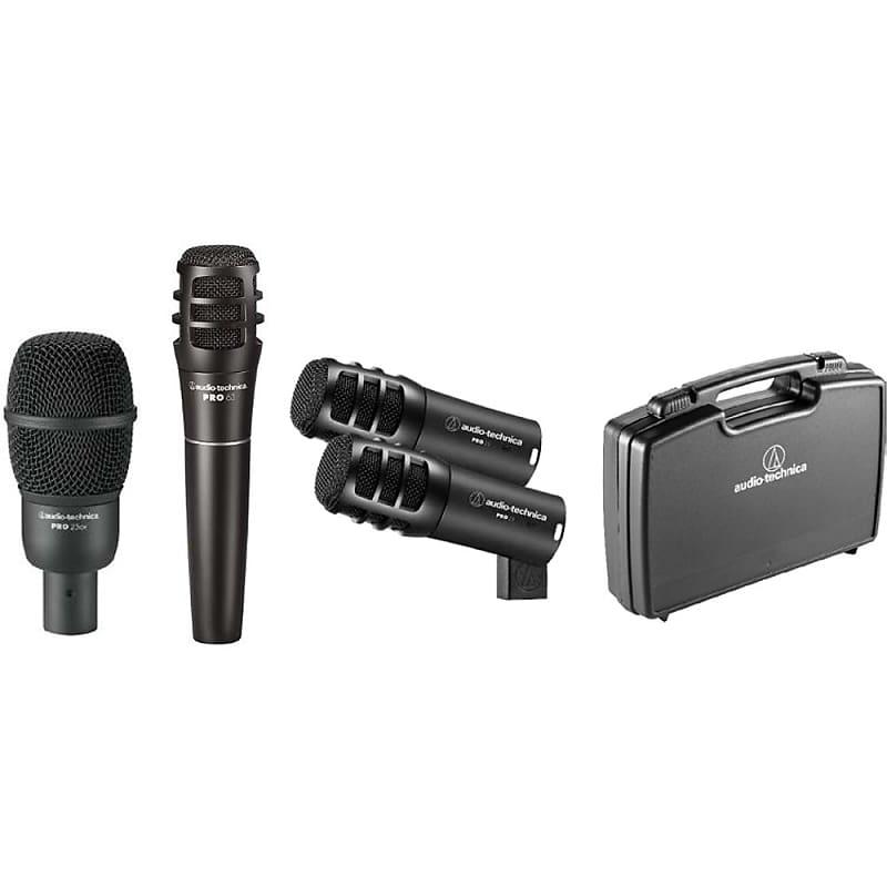 Audio Drum Mic Set : audio technica pro drum4 pro series drum microphone set reverb ~ Russianpoet.info Haus und Dekorationen