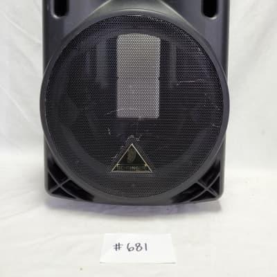 Behringer B212A Speaker Enclosure For Parts  Not Working, No Speaker Components, Enclosure Only #682
