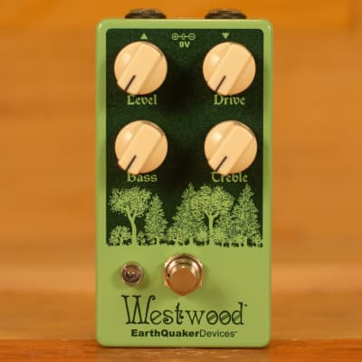 EarthQuaker Devices Westwood Translucent Overdrive for sale