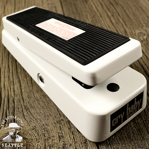 dunlop 105q cry baby bass wah pedal the guitar store reverb. Black Bedroom Furniture Sets. Home Design Ideas
