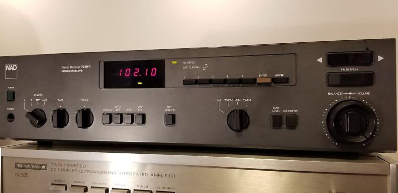 NAD Stereo Receiver 7240PE (Power Envelope design) with Phono Pre-Amp