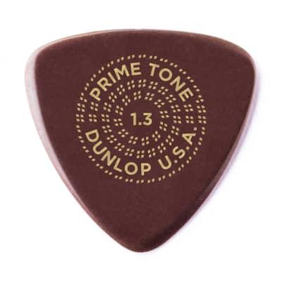 Dunlop 517R13 Primetone Small Tri Smooth 1.3mm Triangle Guitar Picks (12-Pack)