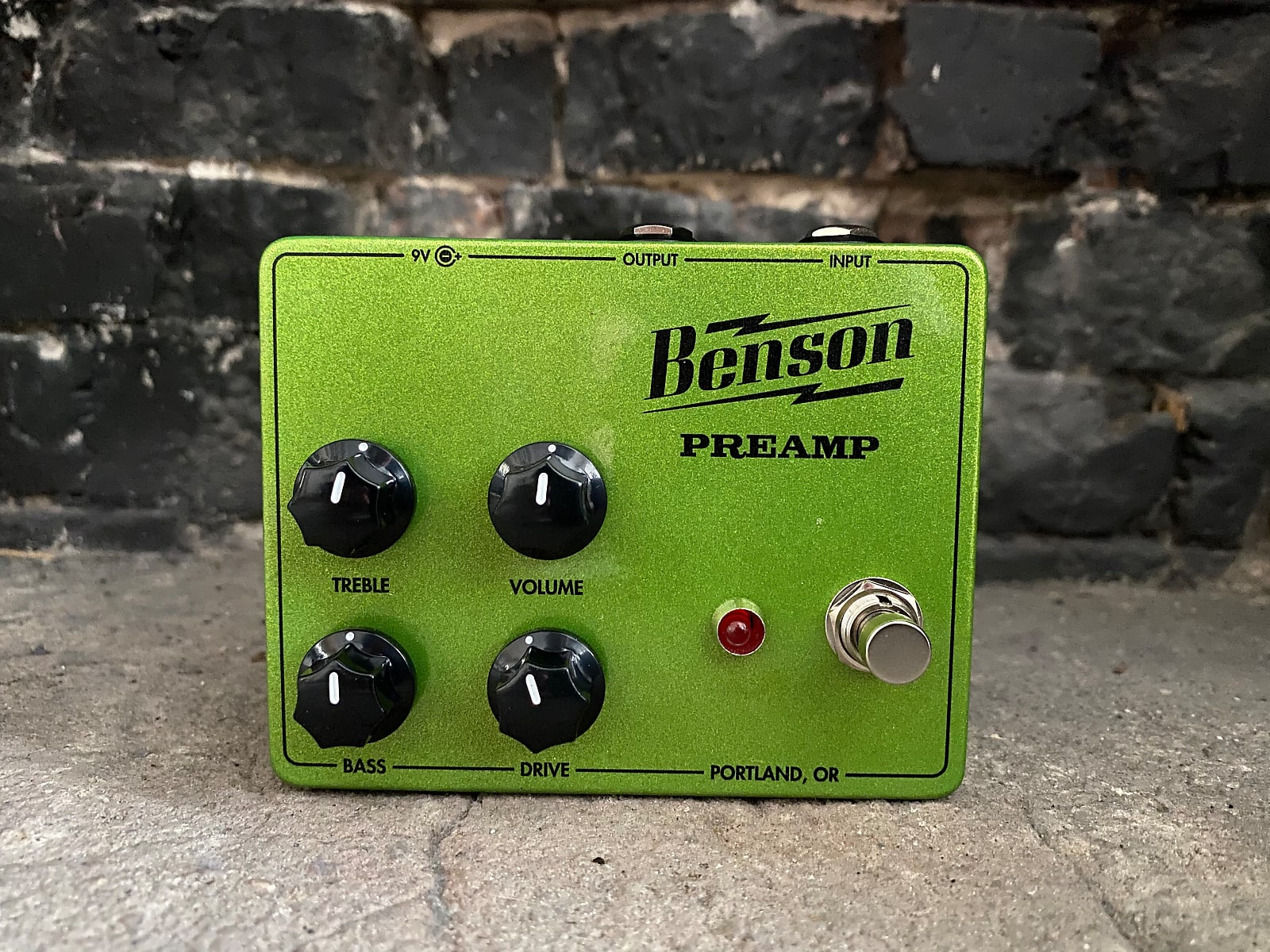 Benson Amps Preamp Custom Green Sparkle *Authorized Dealer* FREE 2-Day Shipping! AIFG Exclusive