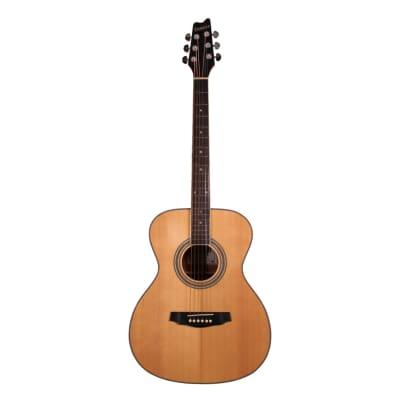Denver OM Style Acoustic Guitar - Natural for sale