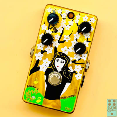 Bearfoot FX Honey Bee OD Custom Limited Edition Hand Painted by Myrold 2012!