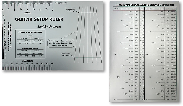 string gauge action ruler guide setup measuring luthier for reverb. Black Bedroom Furniture Sets. Home Design Ideas