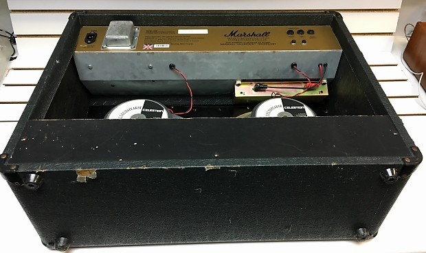 The repair bench: marshall valvestate 8200 amplifier head.