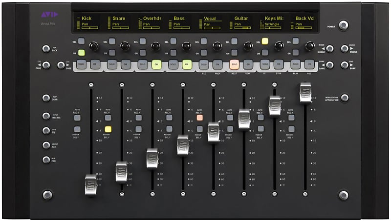 Avid Artist Mix Control Surface for Media Composer & Pro Tools