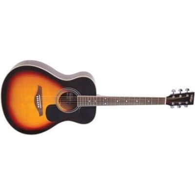 Vintage V300 Folk Acoustic, Vintage Sunburst for sale