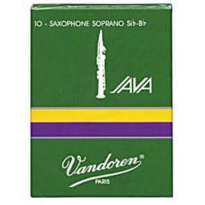 Vandoren SR304 Java Series Soprano Saxophone Reeds - Strength 4 (Box of 10)