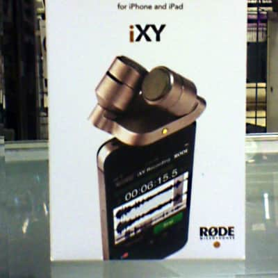 Rode iXY Stereo Condenser Mics for iPhone/iPad