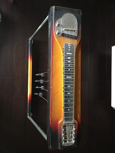 1963 fender 400 pedal steel guitar suburst reverb. Black Bedroom Furniture Sets. Home Design Ideas
