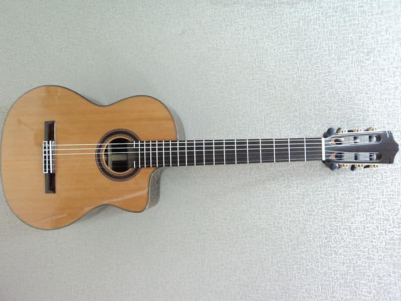 Cordoba C7-CE CD Iberia Classical Cedar & Rosewood Guitar - Blem #N199 image