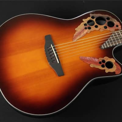 Ovation CE44-5 Acoustic-Electric Guitar - Tobacco Burst (690) for sale