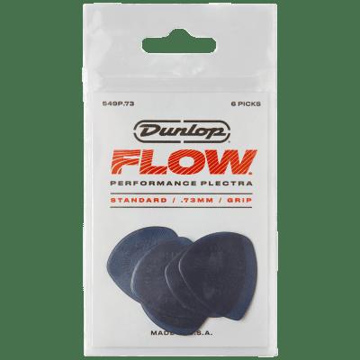 Dunlop Flow Standard Picks 6-Pack, 549P - .73