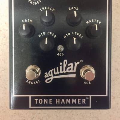 Aguilar Tone Hammer Bass Preamp DI w/adapter
