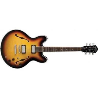 Oscar Schmidt OE30TS-A Semi-Hollowbody Electric Guitar (Tobacco Sunburst) for sale
