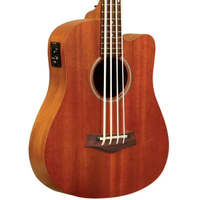 Gold Tone M-Bass 23-Inch Scale 4-String Acoustic-Electric MicroBass w/Gig Bag - (B-Stock)
