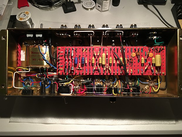 Hand Wired Jcm800 2204 Marshall Clone 50 Watt Master