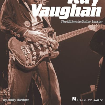 Hal Leonard Play Like Stevie Ray Vaughan - The Ultimate Guitar Lesson