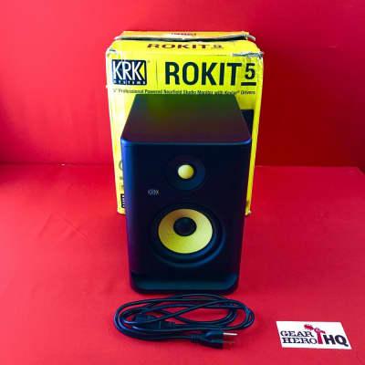"[USED] KRK RP5G4 ROKIT 5 Professional Bi-Amp 5"" Powered Studio Monitor (See Description)."