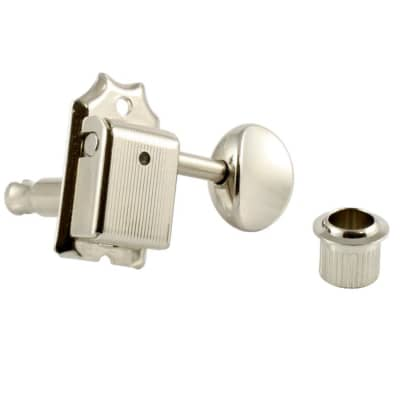 Allparts Economy Vintage Style Left Handed Tuning Machines - Nickel