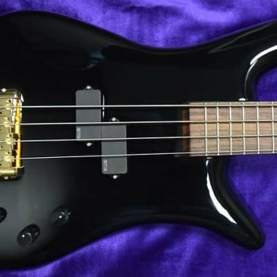 Spector Euro 4LX Ian Hill Signature - 50th Anniversary, Solid Black Gloss with Rosewood and EMG's