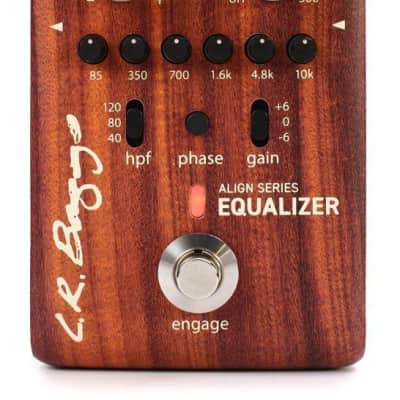 LR Baggs Align Acoustic Preamp/Equalizer Effects Pedal for sale