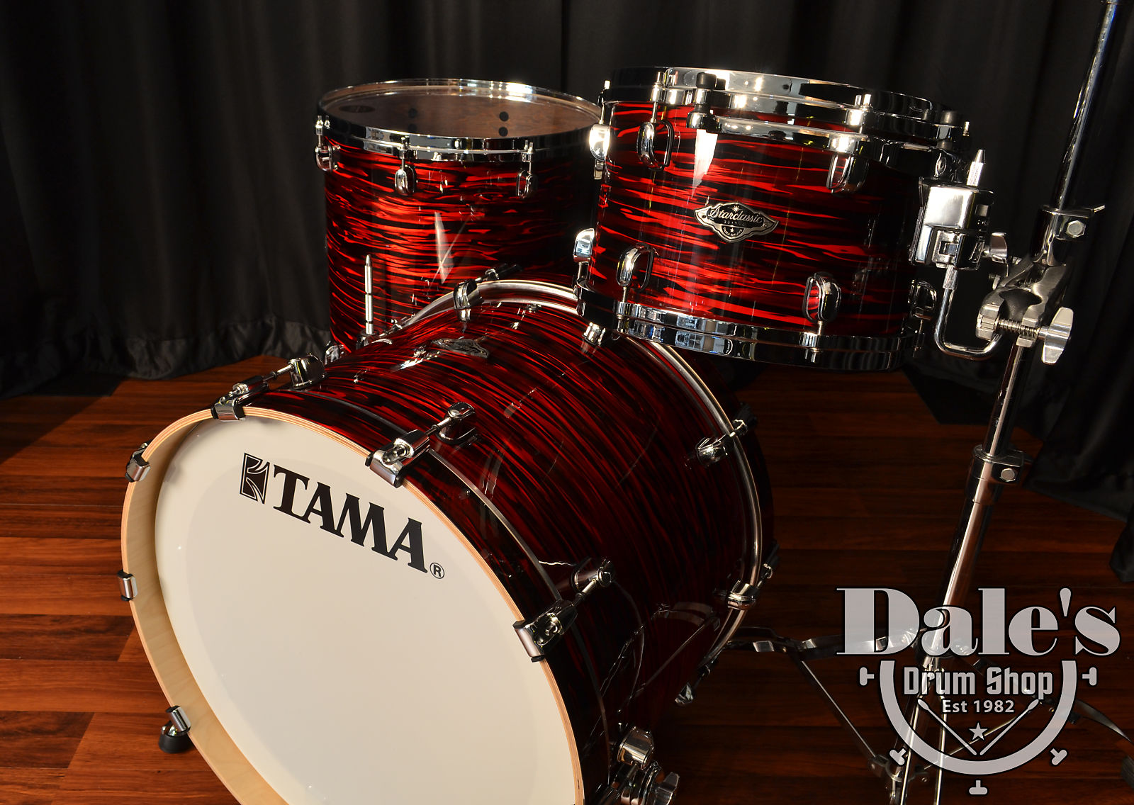 Tama Drum Sets Starclassic Performer Bb Birch Bubinga Red Oyster