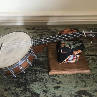 1920s Vintage Slingerland MayBell #24 Resonator Banjo Ukulele (2) - Very Nice for sale