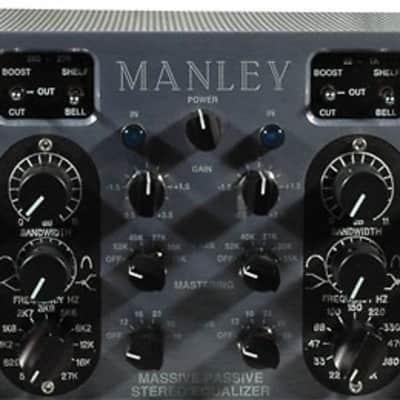 Manley Massive Passive Stereo Tube EQ Mastering Version