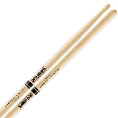Pro-Mark TX5AW Hickory 5A Wood Tip Drum Sticks (Pair)