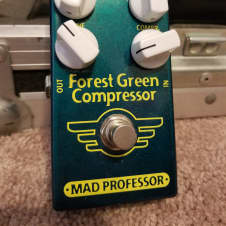 Mad Professor Forest Green Compressor  2017 Green