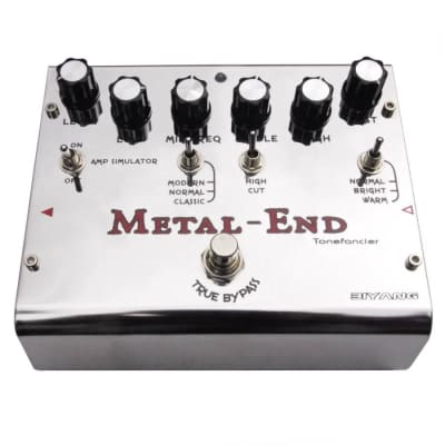 Biyang Metal End Distortion Pedal for sale