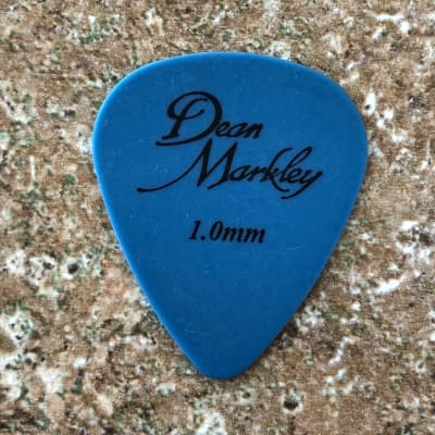 Dunlop Tortex (Dean Markley Logo) 1.0mm 12-pack 1.0mm Blue for sale