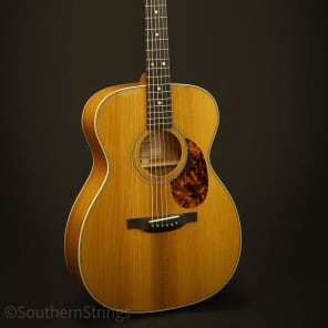 Boucher Mahogany Studio Goose OM Hybrid with Gold Touch for sale