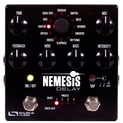 New Source Audio SA260 Nemesis Delay Pedal!