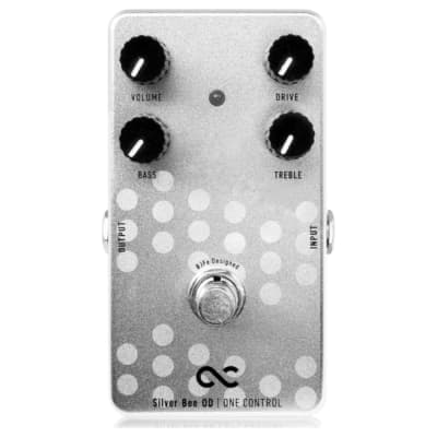One Control Silver Bee Overdrive Effects Pedal