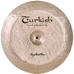 "Turkish Cymbals 19"" Rock Series Rock Beat Raw China RBR-CH19"