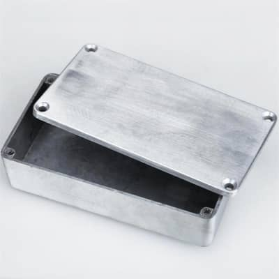 1590B Style Effects Pedal Aluminum Stomp Box Enclosure for Guitar Musical Instrument